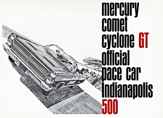 1966 Mercury Comet Cyclone GT Indy 500 Pace Car