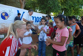 Jugadora visita Paraguay | by laembajada