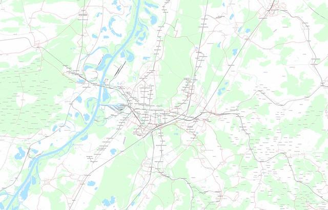 Karlsruhe-Transport-Map