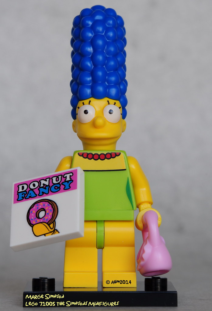 """COLLECTIBLE MINIFIGURE Lego The Simpsons/""""MARGE/""""  NEW 71005"""