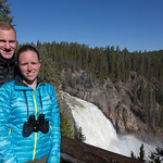 Emily and Chris, Upper Falls, Canyon