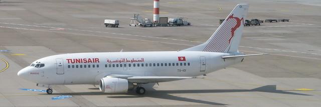 Tunisair TS-IOI Dusseldorf