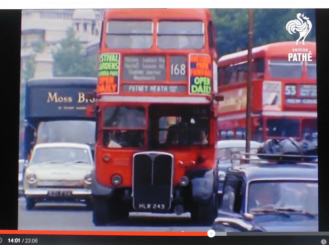 RT256 on the 168 from SW circa 1969