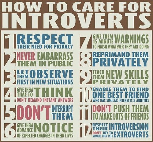 Introverts and Social Media   by leighblackall