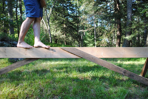 Walking on the Sawhorse | by sikelianos