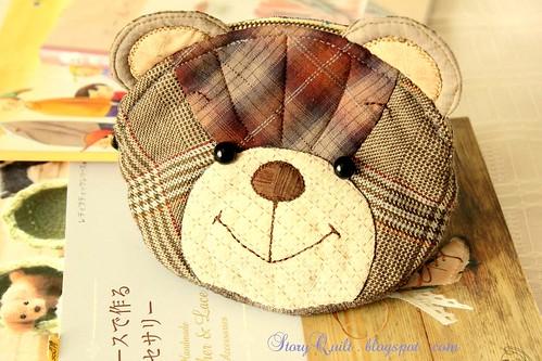 Zakka Style TEDDY POUCH PATTERN