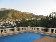Sa, 09/10/2011 - 20:53 - Aussicht Finca vom Pool