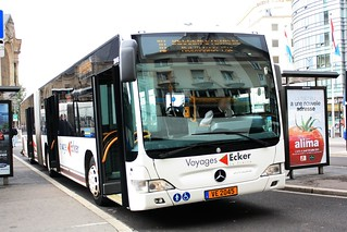 Ecker la Fraise - Mercedes-Benz Citaro G Facelift n°2045 - AVL 10 / RGTR 278 | by Ligne 51