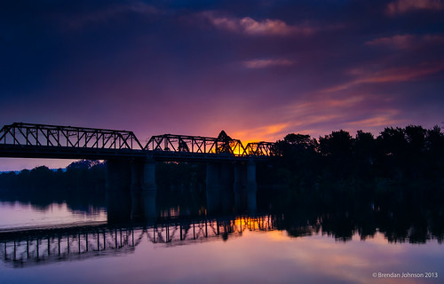 bridge sunset sky water clouds river landscape gold smoke sydney scenic australia bluemountains shore nepean