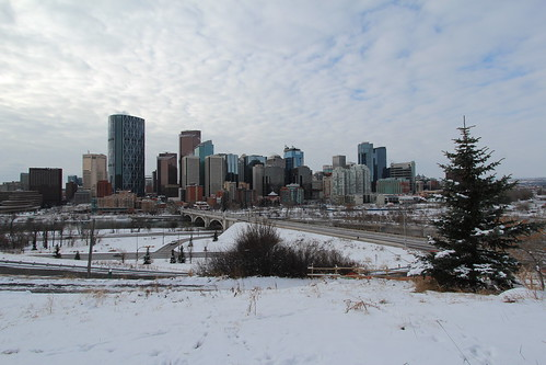 Calgary City in the snow | by davebloggs007