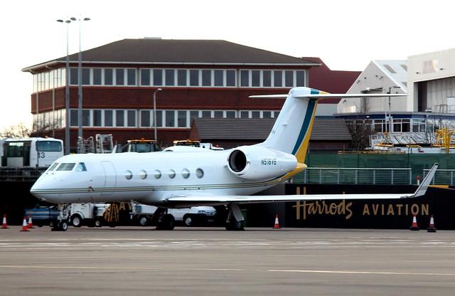 N516VE Gulfstream G450.