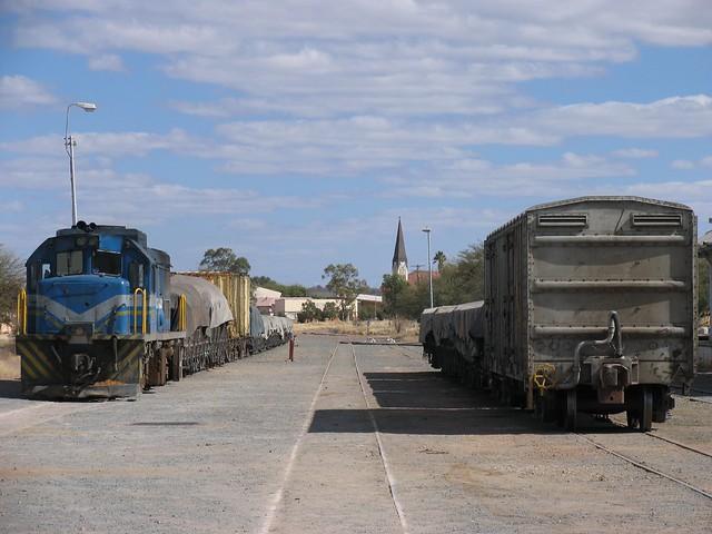 207 te Gobabis (Namibië) op 7-7-2010