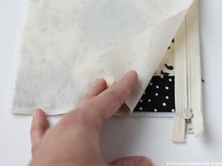 Quilted Zipper Pouch Tutorial | by michaelannn