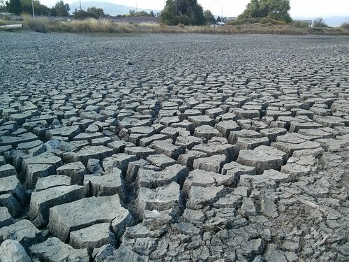 Cracked Mud : California Drought | by TyB