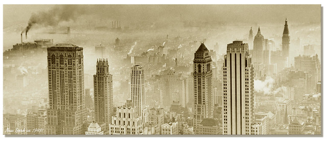NEW YORK City / Midtown Manhattan, c.1949