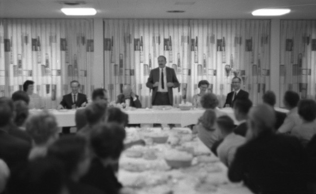 The banquet, Relativity Conference, 1966
