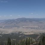 Looking north from Sepulcher Mountain towards Gardner, MT
