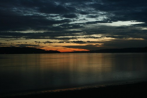 southworth washington pugetsound puget sound water ocean sunset clouds
