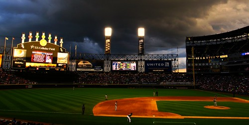 Tempestuous Evening at U.S. Cellular Field, Chicago, Illinois | by Ken Lund