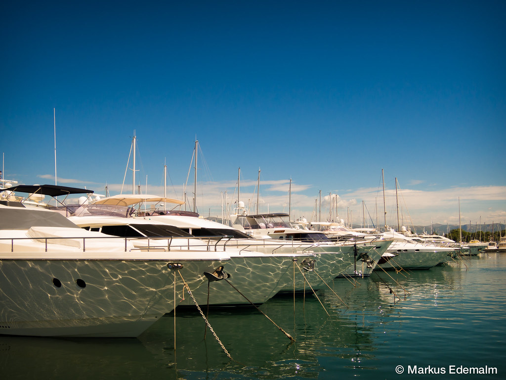 Port Vauban Antibes Markus Edemalm Flickr