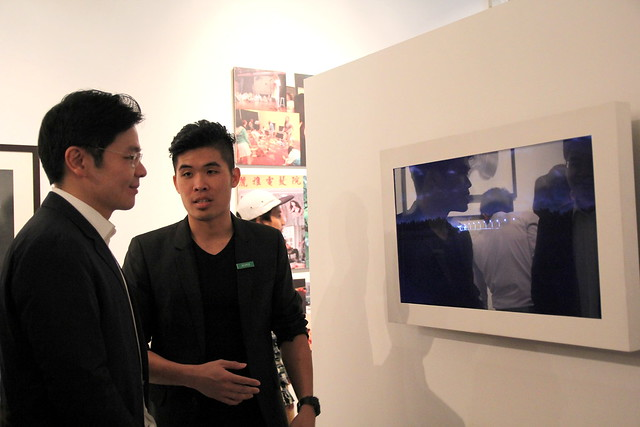 Official Opening of Noise Singapore 2013: The Apprenticeship Programme (TAP) Exhibition