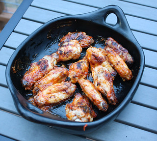 Easy Grilled Buffalo Wings | by kissmywhisk