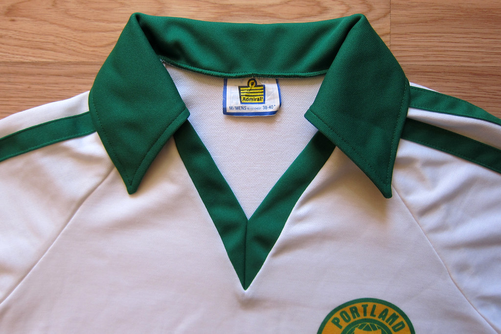 new style 5bda1 dfcc0 1976 Admiral NASL Portland Timbers FC Convertible Jersey S ...