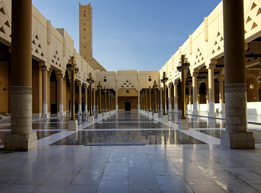 Imam Turki Bin Abdullah Grand Masjid, Riyadh | Took it in ev… | Flickr