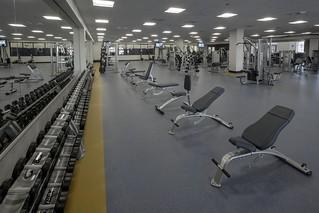 Weight training area | by California Baptist University