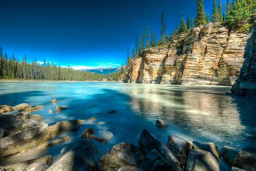 Athabasca after tha falls | by Brian U