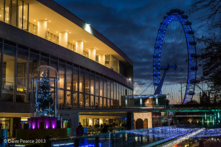 Royal Festival Hall at blue hour. | by Dave Pearce (London)