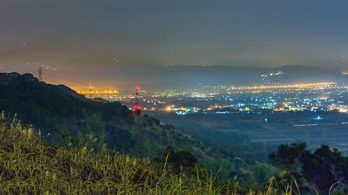longexposure urban green night canon cityscape foggy taiwan nopeople 南投 169 夜景 tone 八卦山 nantou 橫山 canoneos5dmarkiii canon5dmarkiii 139縣道 琉璃光 八卦臺地
