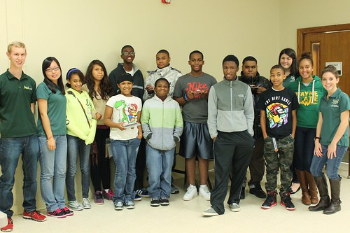 EcoCAR 2 Team Hosts Youth Event at Ferndale Boys and Girls Club | by Wayne State University