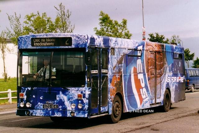 Bus Eireann KC164 (UZG164).