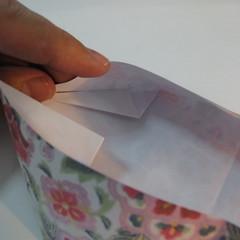 การพับกระดาษเป็นรูปหัวใจแบบ 3 มิติ 026