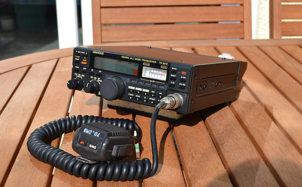 KENWOOD TR-851E 430MHZ 70CMS UHF ALL MODE TRANSCEIVER | Flickr