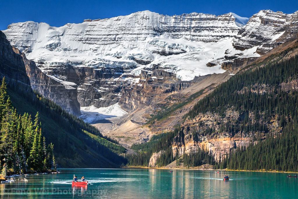Lake Louise, Banff National Park, Alberta, Canada | 加拿大-阿尔伯塔