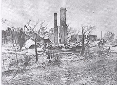 Calomba Store and Post office destroyed in the 1948 fire.