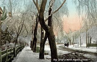 King Street in Winter postcard   by Century 21 Champ Realty -Bill Stevenson