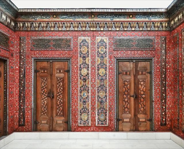 La Chambre d'Alep (Musée d'art islamique, Berlin)