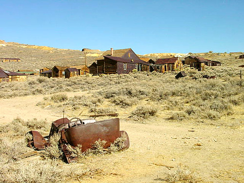 Bodie Ghost Town in 2000