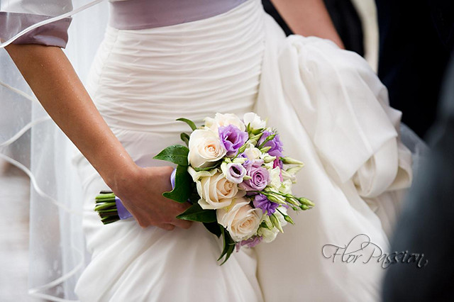 Bouquet Sposa Con Rose.Bouquet Sposa Con Rose Vendella Roselline Lisianthus Ran Flickr