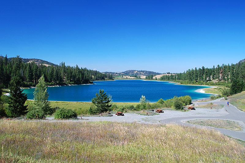 Alleyne Lake, Kentucky-Alleyne Provincial Park, Merritt, Nicola Valley, British Columbia, Canada
