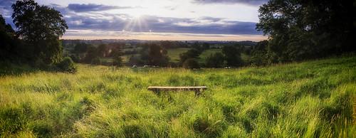 sunrise canon river bench lucy view sigma 1750 28 hampton avon warwickshire 40d
