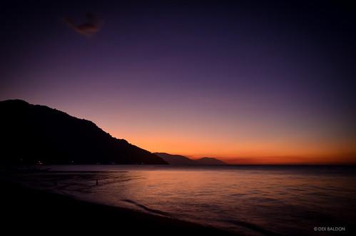 sunset beach dusk philippines puertogalera orientalmindoro