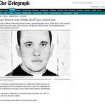 """False Prophet """"pope"""" Francis was """"A Little Devil"""""""