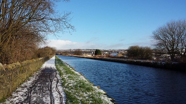 Burnley Straight Mile in Snow
