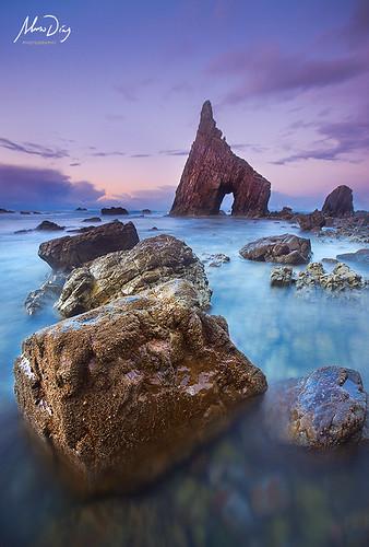 Arch of night