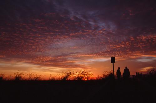 Sunrise Watchers | by Rich Renomeron