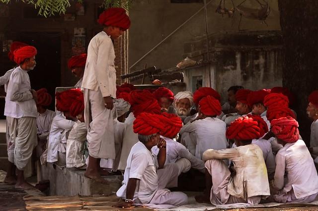 Rabari assembly.  Ghanerao.  Rajasthan